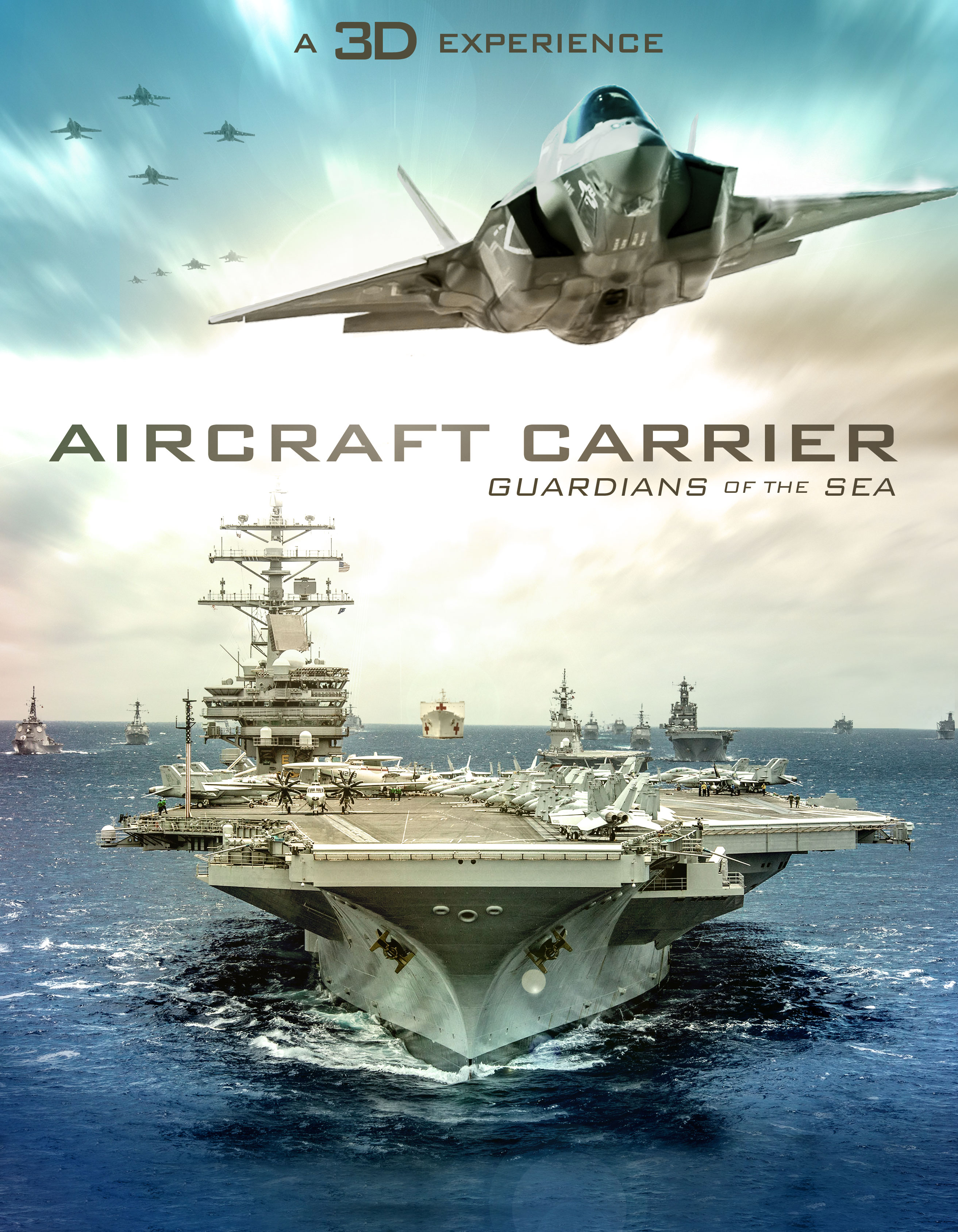 Aircraft Carriers 3D Poster, National Museum of the U S Air Force, Dayton, OH  Aviation