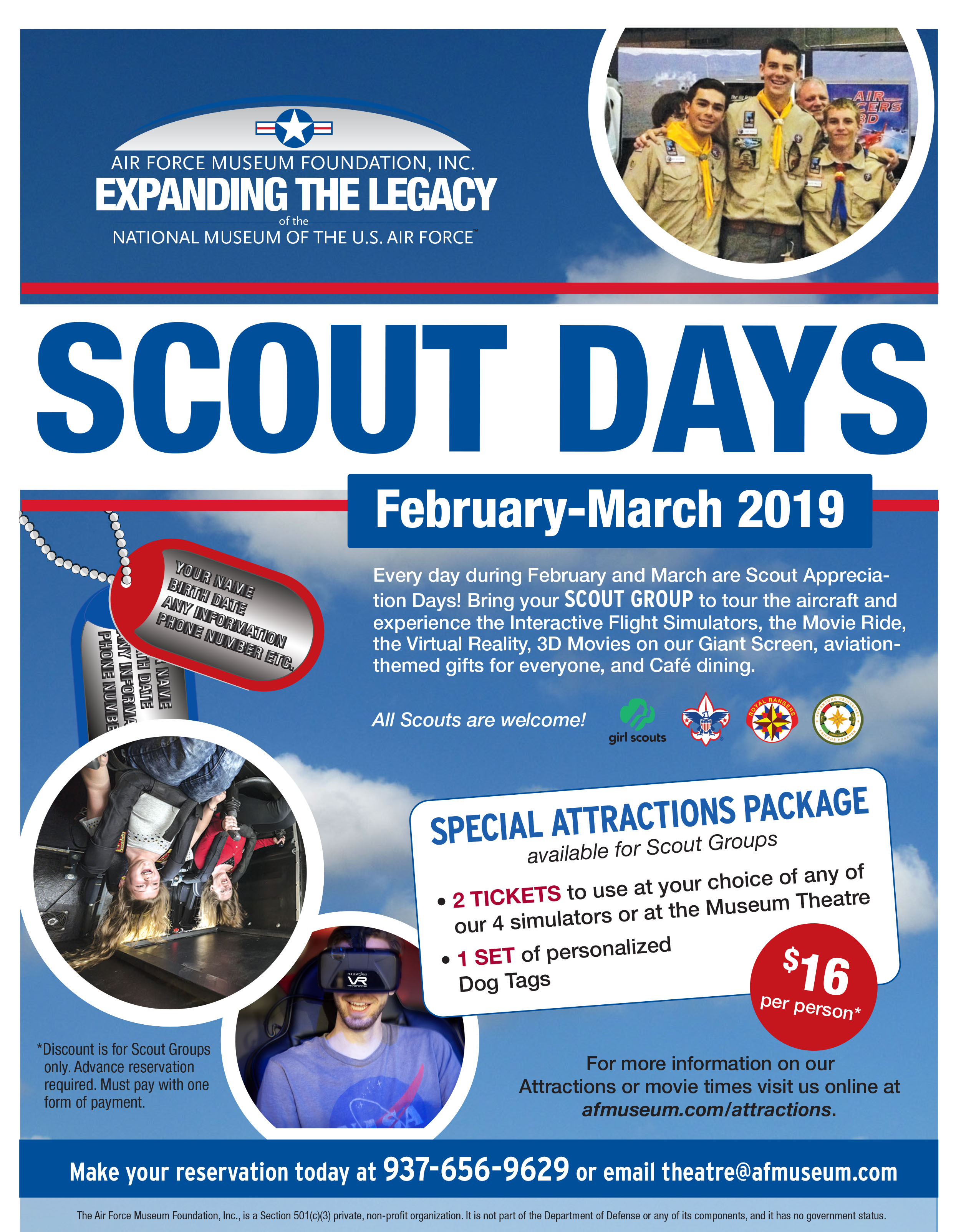 AFMF Scout appreciation flier 2019