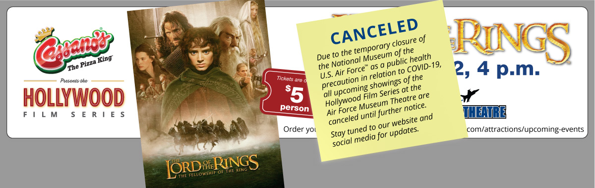 Lord of the Rings web header canceled