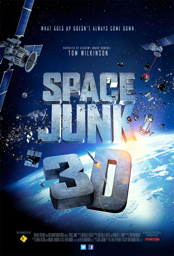 SPace Junk poster